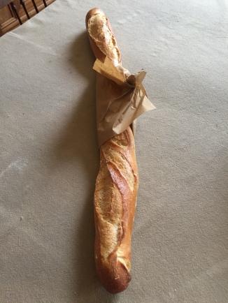 Freshly baked baguette!