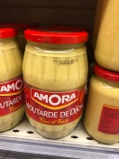 Huge tub of dijon mustard.. yummy and inexpensive if you want that much!