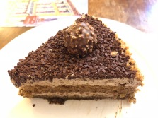 Ferrero Rocher slice