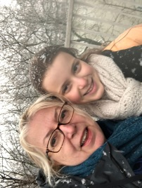Us in the snow!